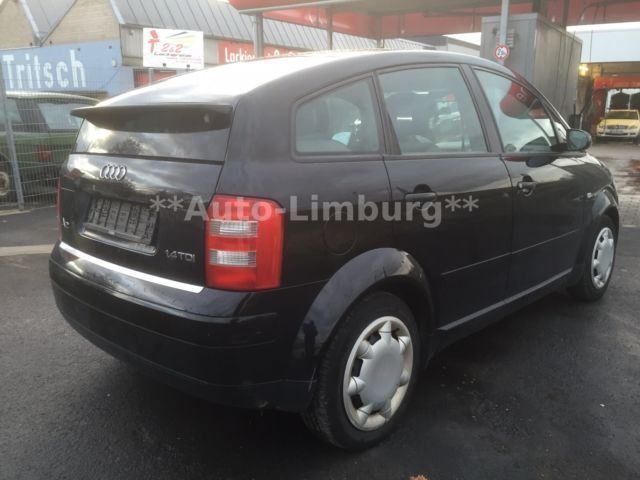 verkauft audi a2 1 4 tdi gebraucht 2001 km in limburg. Black Bedroom Furniture Sets. Home Design Ideas