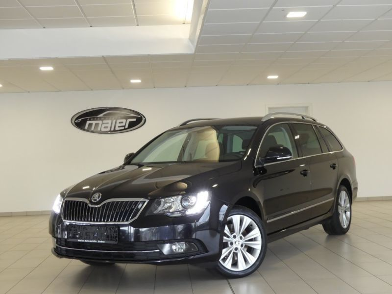 verkauft skoda superb combi 2 0 tdi4x4 gebraucht 2014 km in bebra. Black Bedroom Furniture Sets. Home Design Ideas