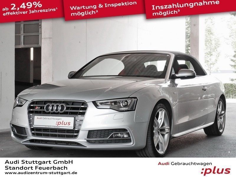 verkauft audi s5 cabriolet 3 0 tfsi qu gebraucht 2014 km in stuttgart. Black Bedroom Furniture Sets. Home Design Ideas