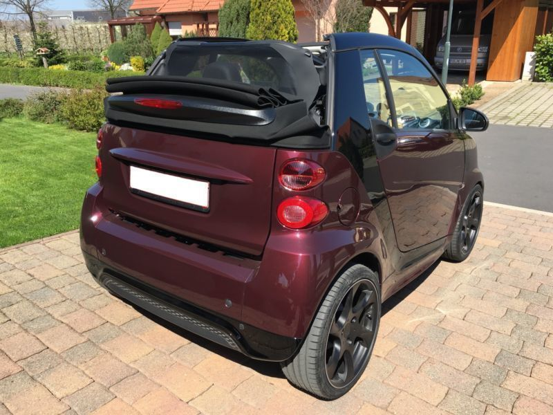 verkauft smart fortwo cabrio passion gebraucht 2015 km in neu ulm. Black Bedroom Furniture Sets. Home Design Ideas