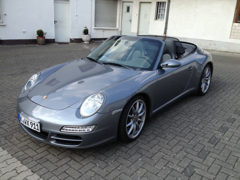 gebraucht 911 4s cabrio pcm park assistent porsche 997 2006 km in pentling. Black Bedroom Furniture Sets. Home Design Ideas