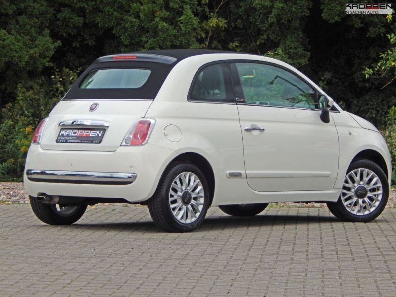 verkauft fiat 500c 1 2 lounge klima l gebraucht 2015 km in zell mosel. Black Bedroom Furniture Sets. Home Design Ideas