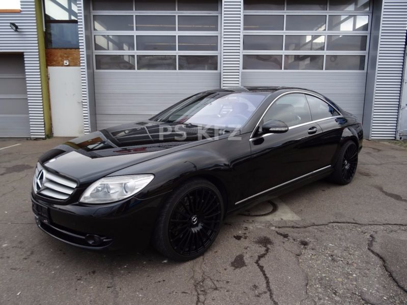 verkauft mercedes cl500 7g tronic 20 z gebraucht 2006 km in frickenhausen. Black Bedroom Furniture Sets. Home Design Ideas