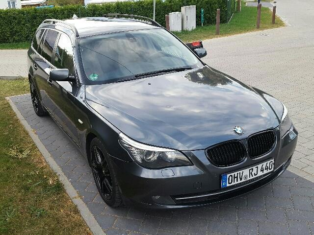 verkauft bmw 525 5er touring aut gebraucht 2007 km in berlin. Black Bedroom Furniture Sets. Home Design Ideas