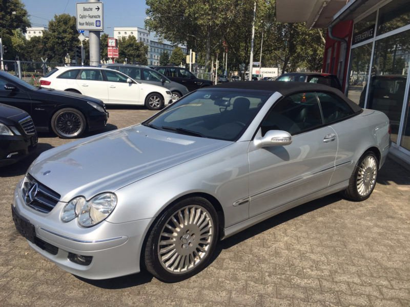 verkauft mercedes clk320 clk cabriocdi gebraucht 2006 km in mannheim. Black Bedroom Furniture Sets. Home Design Ideas