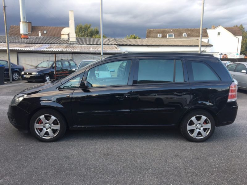 verkauft opel zafira 1 9 cdti edition gebraucht 2006 km in unna. Black Bedroom Furniture Sets. Home Design Ideas