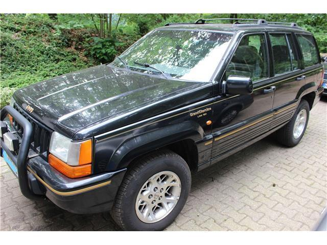verkauft jeep grand cherokee 5 2 limit gebraucht 1995 km in grevenbroich. Black Bedroom Furniture Sets. Home Design Ideas