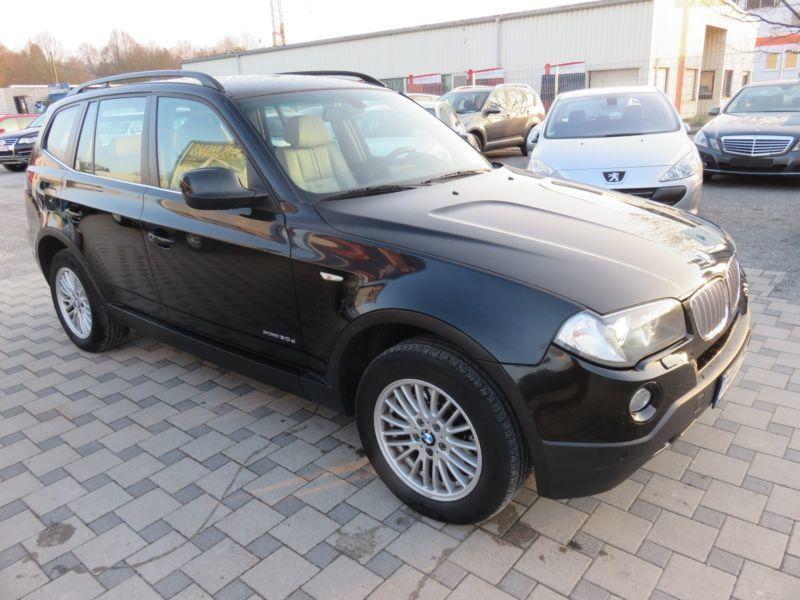 verkauft bmw x3 xdrive30d aut edition gebraucht 2010 km in baden baden. Black Bedroom Furniture Sets. Home Design Ideas
