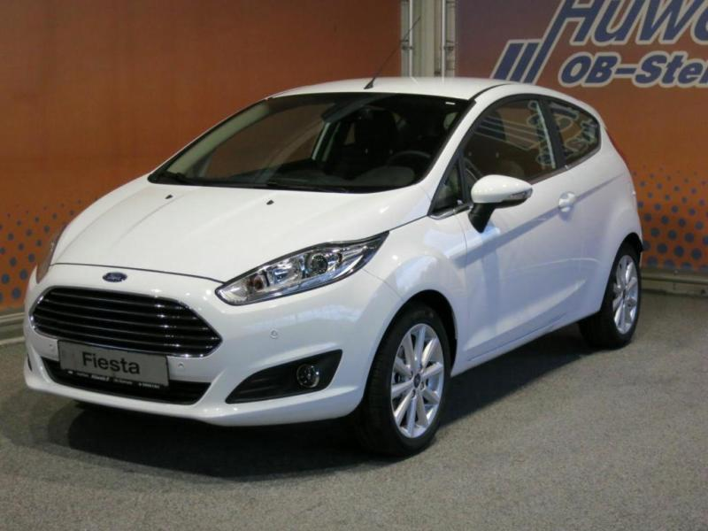 1 4 Gebraucht Ford Fiesta 10 EcoBoost Titanium
