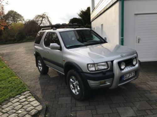 verkauft opel frontera 2 2 gebraucht 1999 km in bergisch gladbach. Black Bedroom Furniture Sets. Home Design Ideas