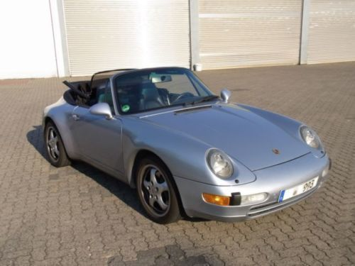 verkauft porsche 993 cabrio vorbes en gebraucht 1996 km in hamburg. Black Bedroom Furniture Sets. Home Design Ideas