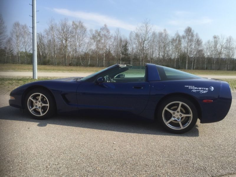 verkauft corvette c5 sondermodell comm gebraucht 2004 km in bodenw hr. Black Bedroom Furniture Sets. Home Design Ideas