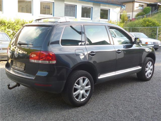 verkauft vw touareg 3 0 v6 tdi dpf gebraucht 2006 km in gummersbach. Black Bedroom Furniture Sets. Home Design Ideas