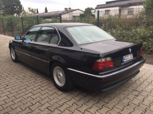 verkauft bmw 750 i gebraucht 1995 km in mainz kastel. Black Bedroom Furniture Sets. Home Design Ideas