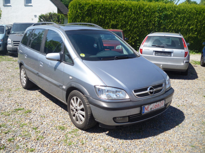 verkauft opel zafira 2 2 dti elegance gebraucht 2003 km in grevenbroich. Black Bedroom Furniture Sets. Home Design Ideas