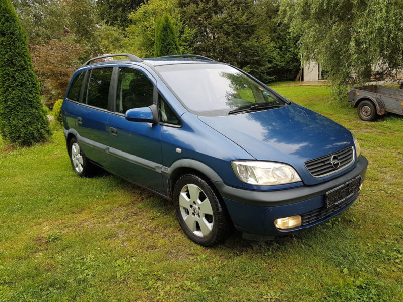 verkauft opel zafira 2 2 dti sportsline gebraucht 2002 km in ramin. Black Bedroom Furniture Sets. Home Design Ideas