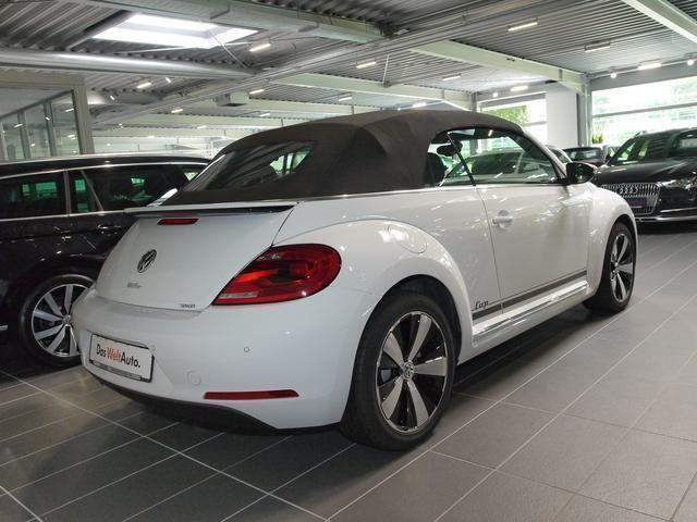 verkauft vw beetle cabriolet 1 2 tsi s gebraucht 2015 10 km in illingen m von de. Black Bedroom Furniture Sets. Home Design Ideas
