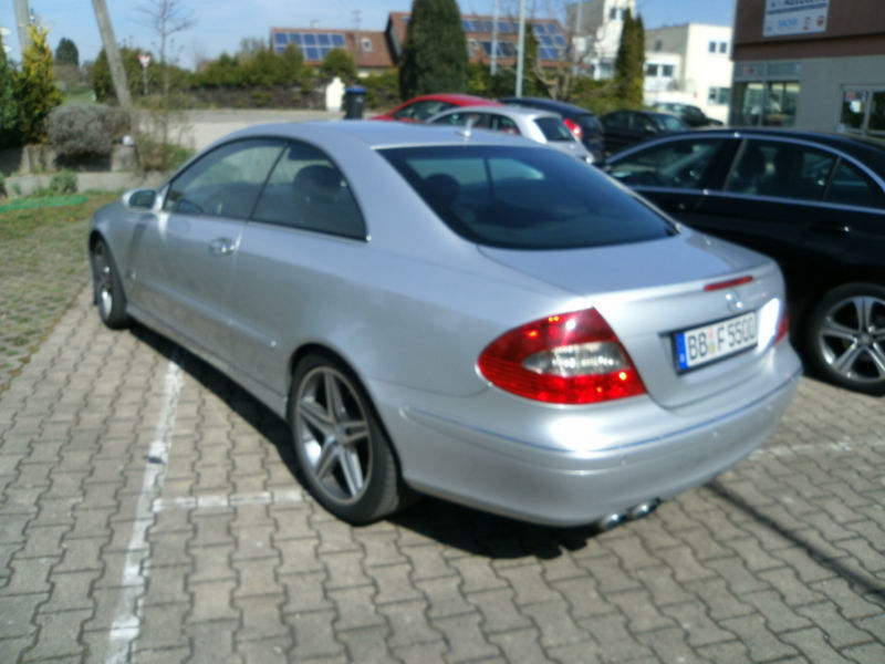 verkauft mercedes clk500 clk coupe387 gebraucht 2006 km in sindelfingen. Black Bedroom Furniture Sets. Home Design Ideas