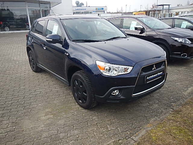 verkauft mitsubishi asx 1 6 2wd edition gebraucht 2011 km in kleve. Black Bedroom Furniture Sets. Home Design Ideas
