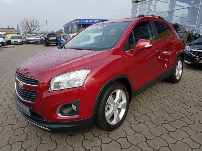 verkauft chevrolet trax 1 4t lt klima gebraucht 2014 km in potsdam. Black Bedroom Furniture Sets. Home Design Ideas