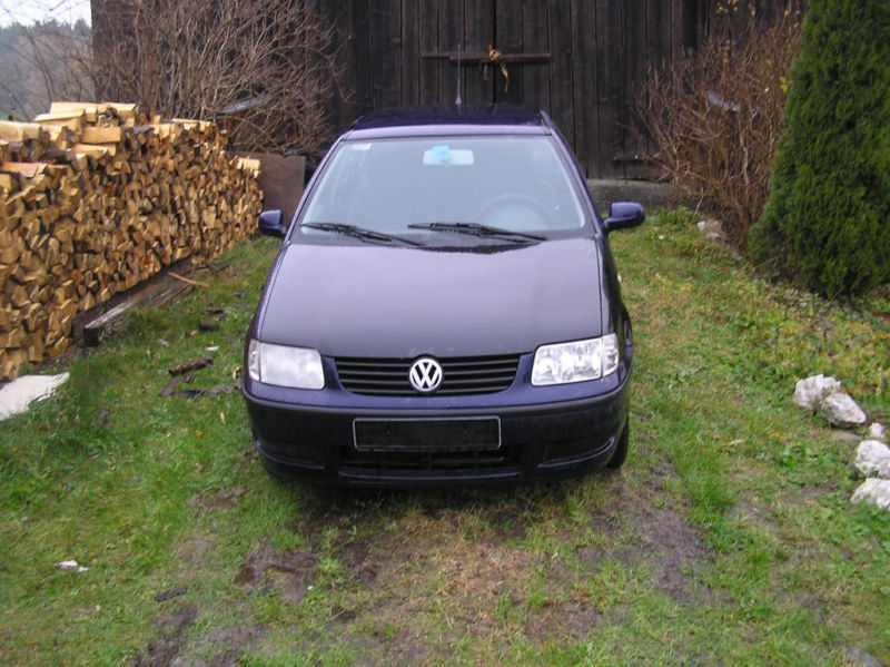 verkauft vw polo 6 n 1 0 50ps gebraucht 2001 km in malente rachut. Black Bedroom Furniture Sets. Home Design Ideas