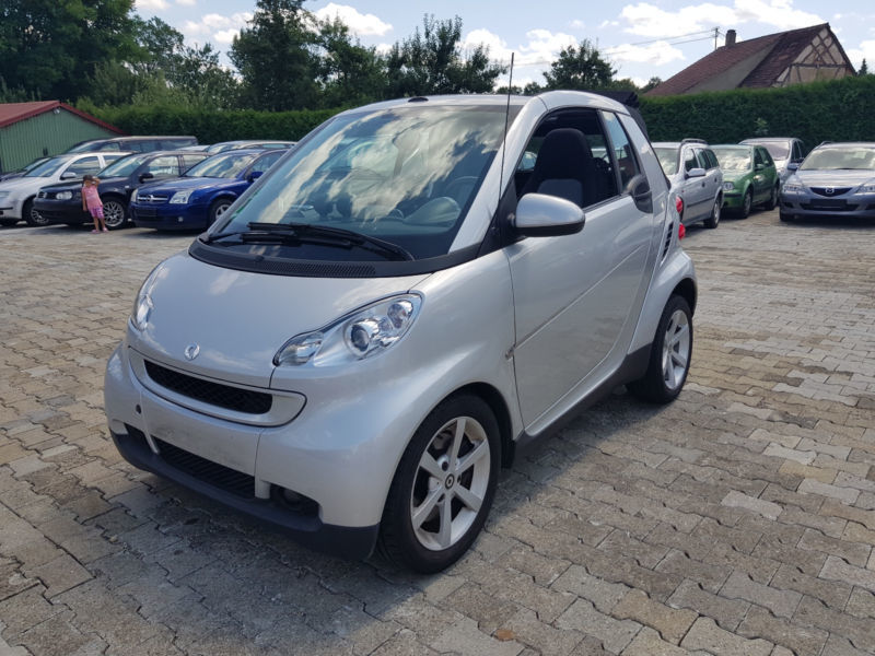 verkauft smart fortwo cabrio gebraucht 2008 km. Black Bedroom Furniture Sets. Home Design Ideas