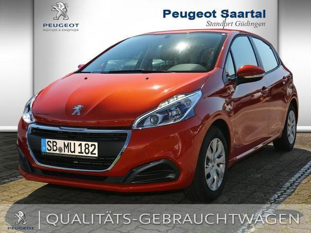 verkauft peugeot 208 puretech 82 activ gebraucht 2016 km in saarbr cken. Black Bedroom Furniture Sets. Home Design Ideas