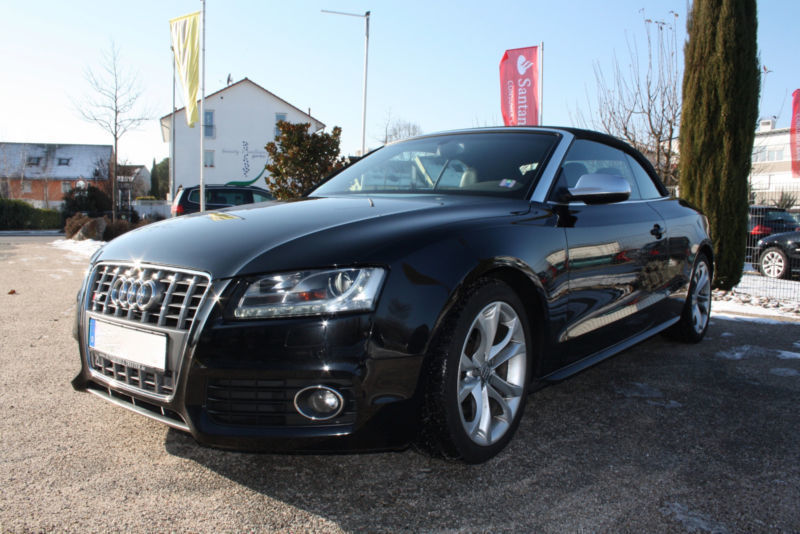 verkauft audi s5 cabriolet s tronic gebraucht 2009 km in vreden. Black Bedroom Furniture Sets. Home Design Ideas