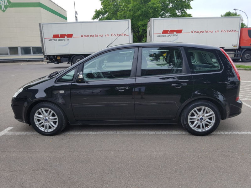 verkauft ford c max 1 6 tdci dpf ghia gebraucht 2009 km in berlin. Black Bedroom Furniture Sets. Home Design Ideas