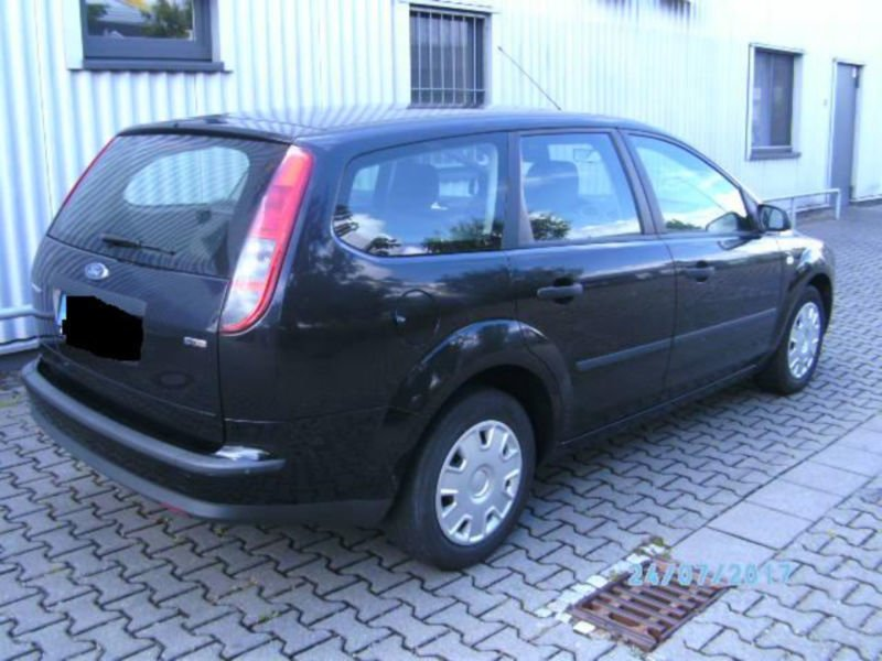 verkauft ford focus turnier 1 6 tdci t gebraucht 2005 km in bad homburg. Black Bedroom Furniture Sets. Home Design Ideas