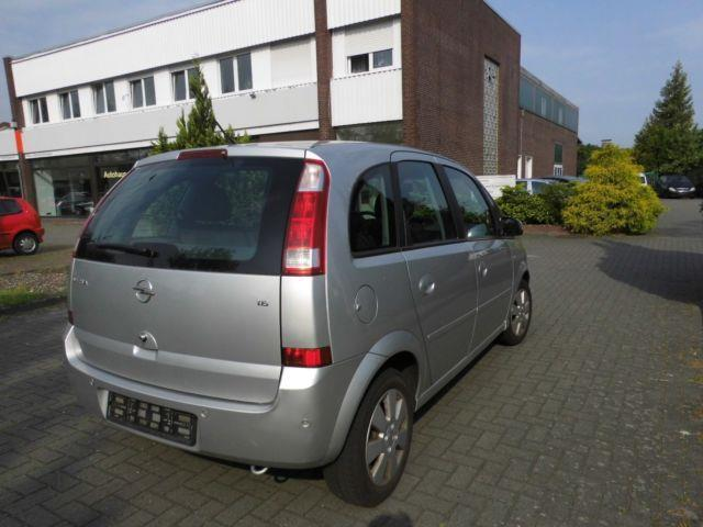 verkauft opel meriva 1 6 16v cosmo gebraucht 2004 km in diepholz. Black Bedroom Furniture Sets. Home Design Ideas