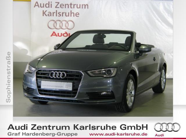 verkauft audi a3 cabriolet 2 0 tdi cle gebraucht 2014 km in karlsruhe. Black Bedroom Furniture Sets. Home Design Ideas