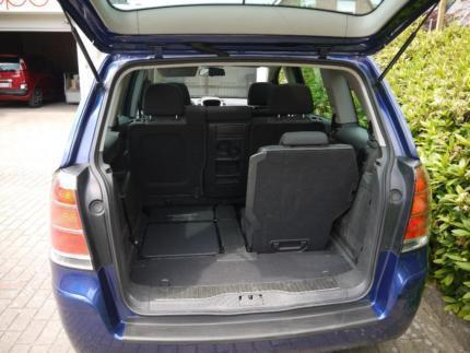 verkauft opel zafira b 150 ps 7 sitze gebraucht 2007. Black Bedroom Furniture Sets. Home Design Ideas
