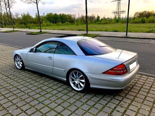 verkauft mercedes cl500 gebraucht 2003 km in berlin. Black Bedroom Furniture Sets. Home Design Ideas
