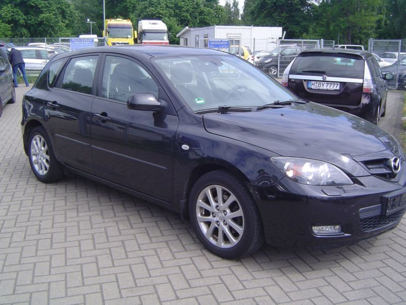 verkauft mazda 3 lim 1 6 sport active gebraucht 2008 km in hannover. Black Bedroom Furniture Sets. Home Design Ideas