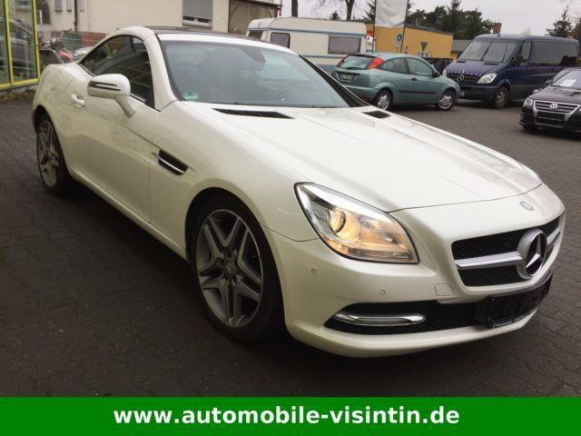verkauft mercedes slk200 slk 200blueef gebraucht 2011 km in rathenow. Black Bedroom Furniture Sets. Home Design Ideas