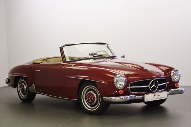 verkauft mercedes 190 sl 1960 gebraucht 1960 250 km in. Black Bedroom Furniture Sets. Home Design Ideas