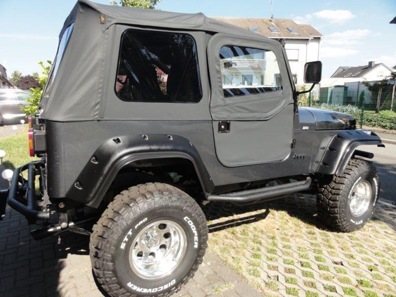 verkauft jeep wrangler 4 0 high output gebraucht 1994 km in. Black Bedroom Furniture Sets. Home Design Ideas
