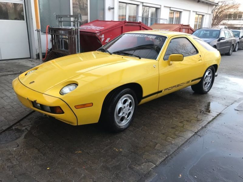 verkauft porsche 928 erste serie mit s gebraucht 1980 km in stra lach. Black Bedroom Furniture Sets. Home Design Ideas