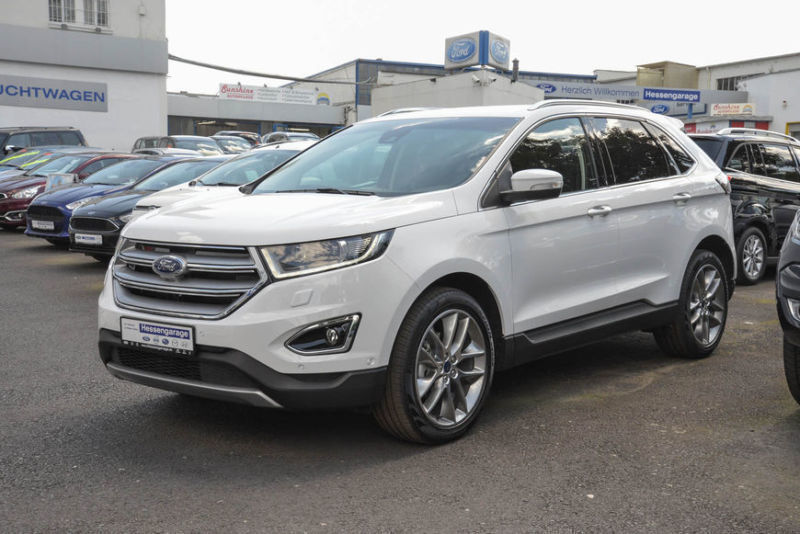 verkauft ford edge 2 0 tdci 4x4 titani gebraucht 2017 km in frankfurt. Black Bedroom Furniture Sets. Home Design Ideas