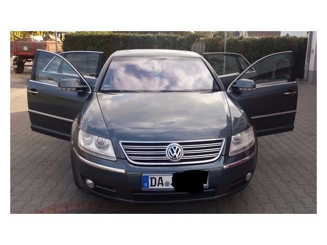 verkauft vw phaeton 3 2 v6 5 sitzer gebraucht 2004 km in giengen. Black Bedroom Furniture Sets. Home Design Ideas