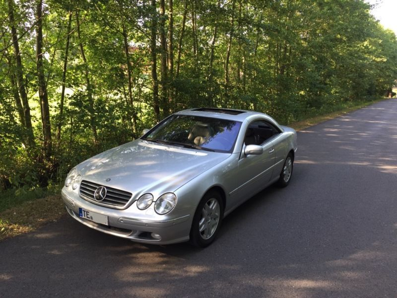 verkauft mercedes cl500 cl 500in guten gebraucht 2001 km in mannheim. Black Bedroom Furniture Sets. Home Design Ideas