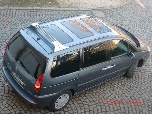 verkauft peugeot 807 hdi platinum dach gebraucht 2006 km in babenhausen. Black Bedroom Furniture Sets. Home Design Ideas