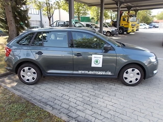 verkauft skoda rapid spaceback spaceba gebraucht 2015 km in dachau. Black Bedroom Furniture Sets. Home Design Ideas