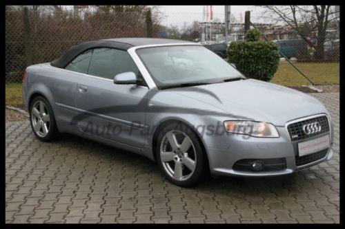 verkauft audi a4 cabriolet s line kli gebraucht 2006 km in augsburg. Black Bedroom Furniture Sets. Home Design Ideas