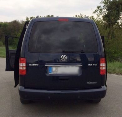 gebraucht trendline life 2 0 tdi 4motion vw caddy maxi 2011 km in adorf. Black Bedroom Furniture Sets. Home Design Ideas
