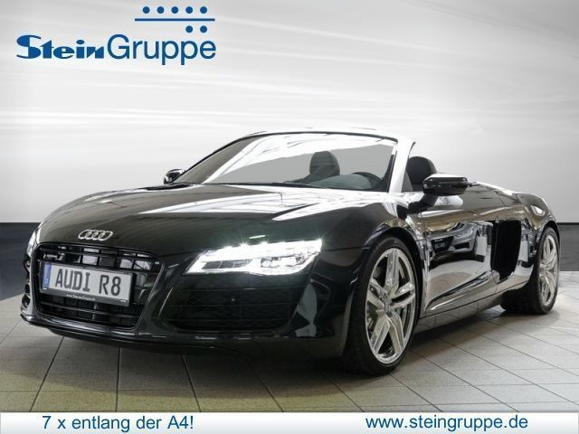 verkauft audi r8 spyder 4 2 fsi gebraucht 2015 km in bergisch gladbach. Black Bedroom Furniture Sets. Home Design Ideas
