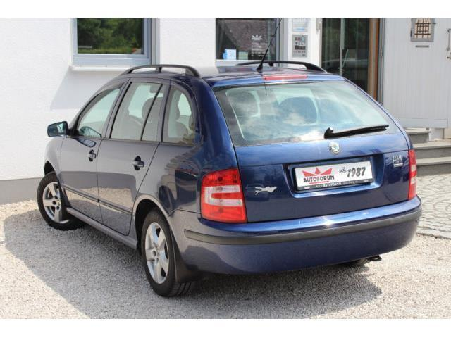 gebraucht 1 4 16v combi classic skoda fabia 2007 km in freital. Black Bedroom Furniture Sets. Home Design Ideas