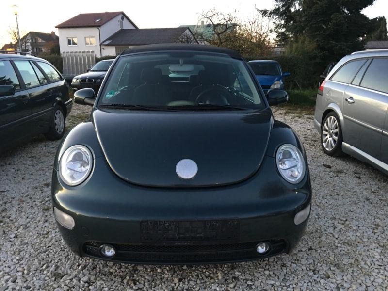 verkauft vw beetle newcabriolet 2 0 gebraucht 2004 km in leipheim. Black Bedroom Furniture Sets. Home Design Ideas