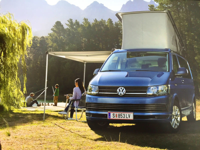 gebraucht t5 vw california 2015 km 100 in nesselwang. Black Bedroom Furniture Sets. Home Design Ideas